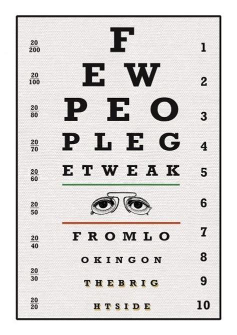 printable vintage eye chart vintage eye chart print eye charts pinterest