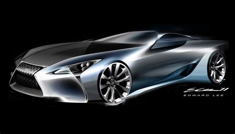 lexus car lexus lc500 vs lexus lf lc concept styling faceoff