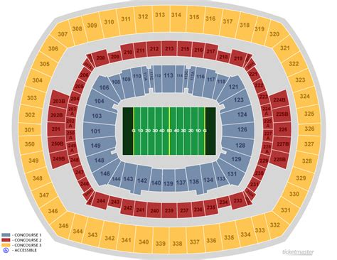 metlife stadium seating chart jets image gallery meadowlands seating chart