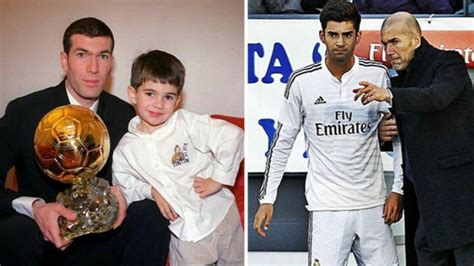At Sons League by Zinedine Zidane Names His In Real Madrid Chions