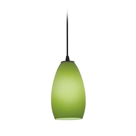 Green Glass Pendant Lighting Modern Mini Pendant Light With Green Glass