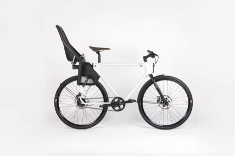 Pch Lime Lab - evo urban utility bike lets cyclists swap clip on accessories