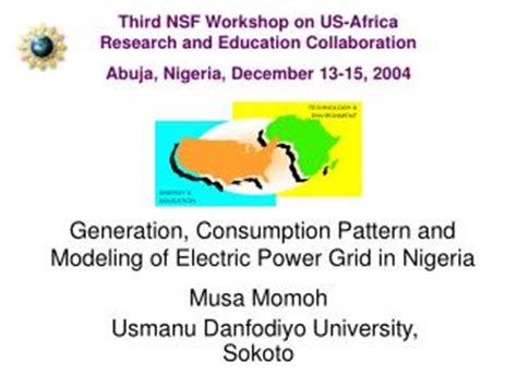 energy use pattern in nigeria ppt an analysis of power consumption in a smartphone