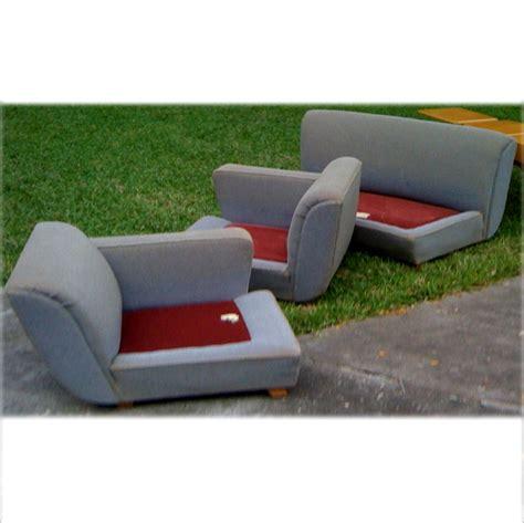 stratford upholstery futorian stratford vintage 3 piece sectional sofa couch ebay