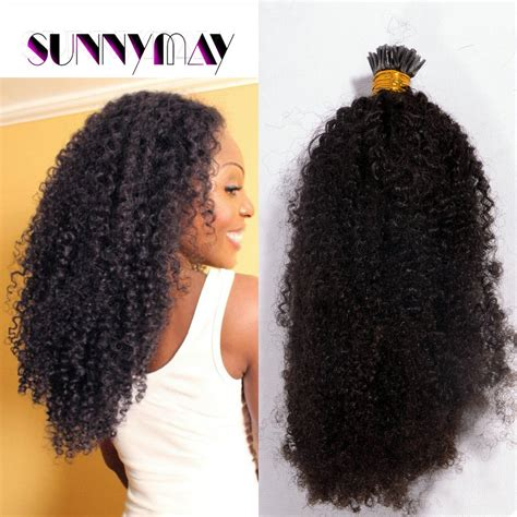 how to make stranded hair nappy 8a brazilian virgin hair weave afro kinky curly 1g strand
