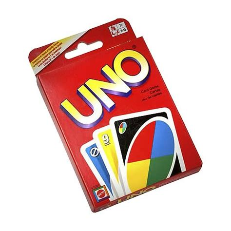 Or Uno Cards Uno Card Mattel At Entertainment