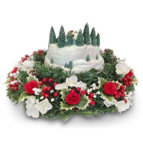 the thomas kinkade floral centerpiece hammacher schlemmer