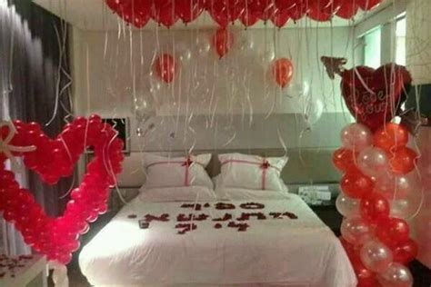 Romantic Balloon Decoration at Home, Delhi / NCR  Rs. 3300