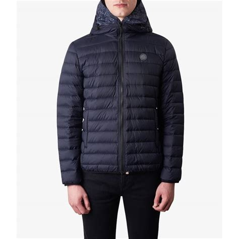 Hooded Quilted Coats Outerwear by Lightweight Quilted Hooded Jacket Pretty Green Shop