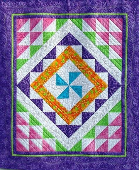 The Rainbow Quilt Pattern by Trip Around The Rainbow Quilt Pattern By Dianabeaubien