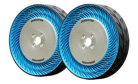 Bridgestone Airless Tires by Second Generation Bridgestone Airless Tires Unveiled At