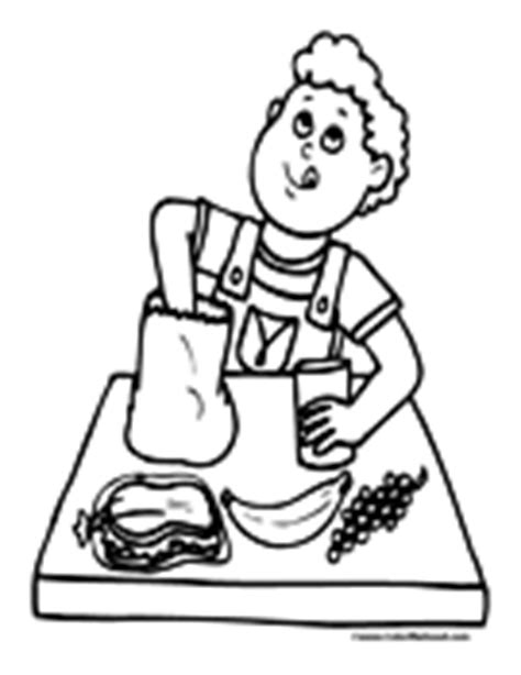 school lunch coloring page school lunch tray coloring page coloring pages