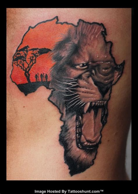 african queen tattoo on shoulder