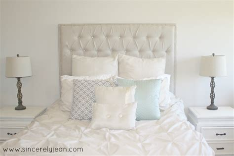 tufted headboard diy tufted headboard sincerely jean