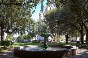 lafayette square recollections of a vagabonde savannah lafayette square and a wedding