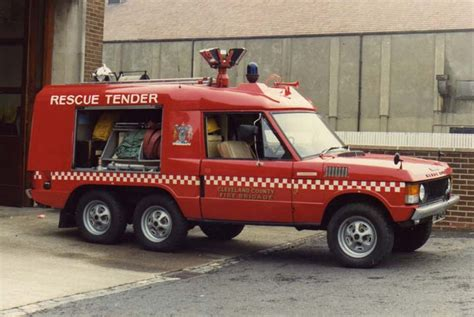 cleveland rescue engines photos cleveland range rover rescue tender