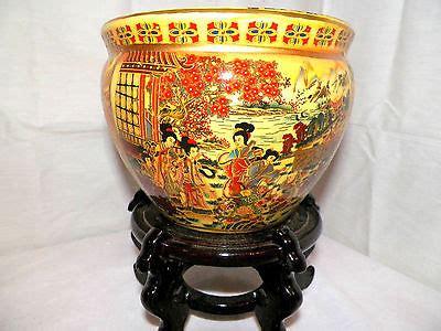 Apopka Planter by Vintage Aaa Imports Decoware Apopka Florida Porcelain