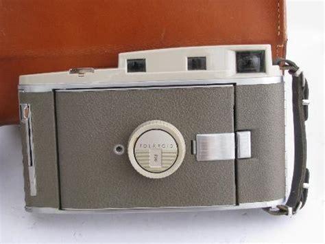 1950s vintage polaroid model 800 land camera w/light meter