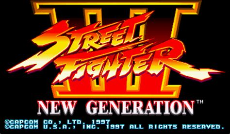 play street fighter iii capcom cps 3 online | play retro