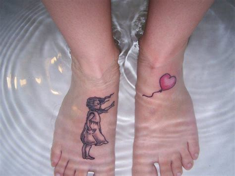 foot tattoo ideas for female cool tattoos on foot