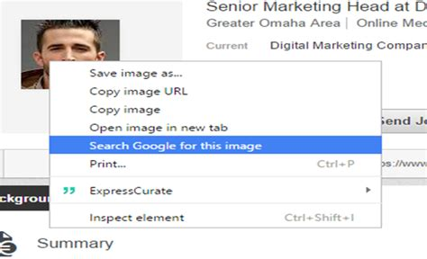 Social Profile Search Identifying Social Media Profiles Possible With Image Search
