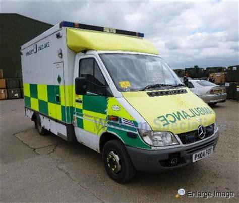 mercedes sprinter ambulance possible cer conversion