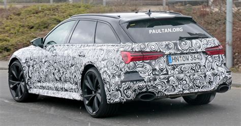 spied  audi rs avant spotted    time