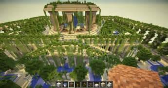 minecraft les jardins suspendus de babylone
