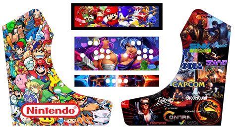 Design Your Own Home Theater Room bartop arcade graphics