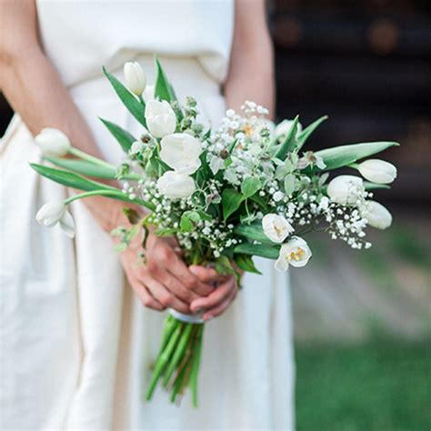 White Wedding Bouquets For Brides by Tulip Wedding Bouquets For Brides