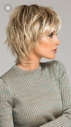 woman short layered bob wedged into neck short haircuts for women with fine thin hair over 50