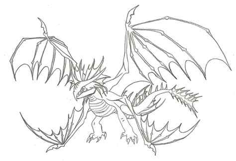 how to train your dragon coloring pages skrill