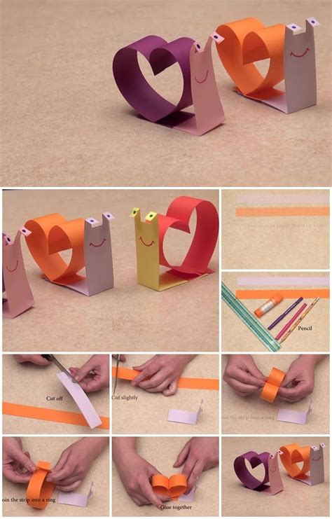 paper crafting tutorials diy paper snail craft tutorial usefuldiy