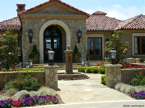spanish style courtyards spanish style front entry courtyard gardening