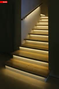 Handrail Lights How Is Led Light Fixed To The Steps And Handrail