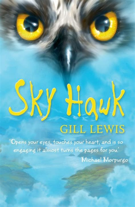 a sky of books book review sky hawk gill lewis 9 12 sue pakka s