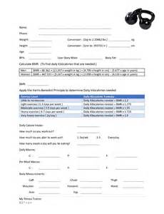 Personal Consultation Template by My Fitness Trainer The Golightly Fitness Trainer
