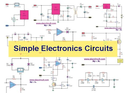 a simple electric circuit simple electronic circuits elec circuit electronic