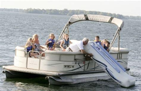inflatable pontoon boat slide new huge 32 quot x 120 quot inflatable water slide for pontoon