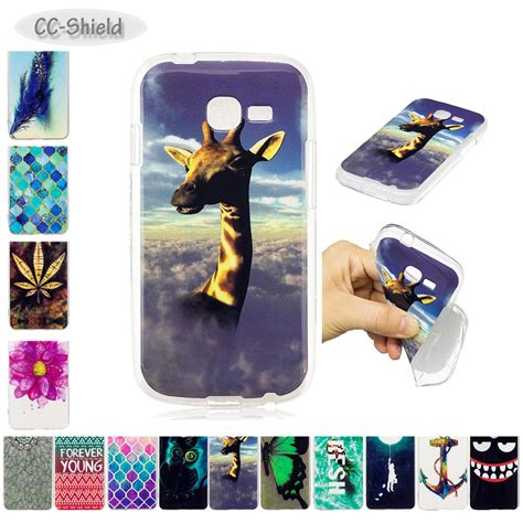 tpu soft for samsung galaxy pro duos s 7260 7262 gt s7262 s7260 painting imd phone