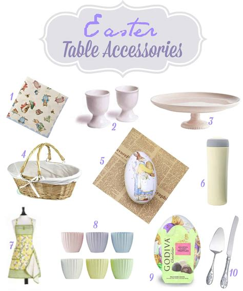 sweet sunday easter table accessories sweetphi
