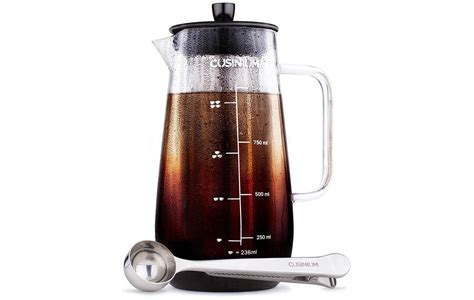 Coffee Maker Sharp cusinium cold brew iced coffee maker gadget sharp