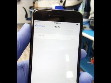 iphone  wifi greyed  fix youtube