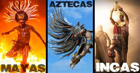 imagenes de aborigenes aztecas descubre las diferencias entre mayas aztecas e incas de