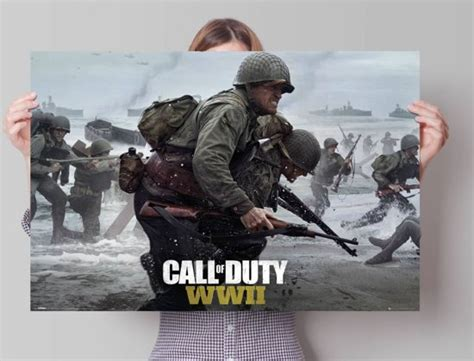 Call Of Duty 61 bol call of duty stronghold ww2 poster 91 5 x 61 cm