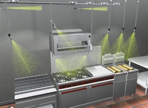 Kitchen Suppression System Ansul Blackwood Kitchen Restaurant Suppression
