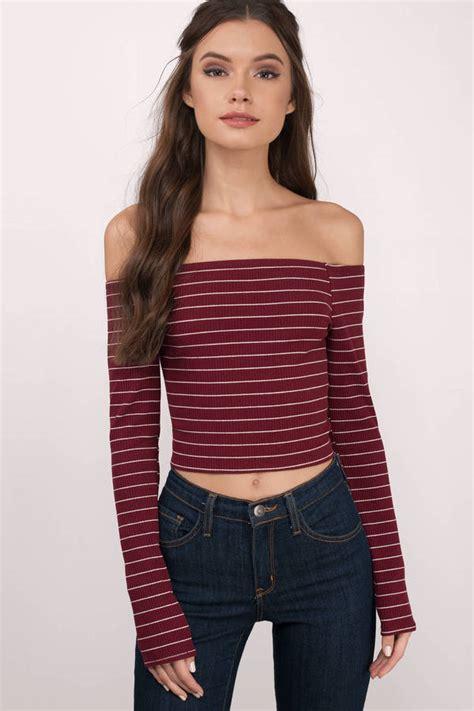 Blouse Sabrina Top Shoulder Blouse facts about the shoulder tops medodeal