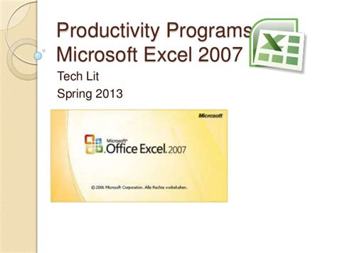 Excel Ppt Exle Powerpoint Presentation For