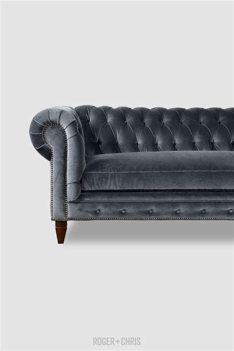 gray velvet chesterfield sofa best 25 grey velvet sofa ideas on gray velvet