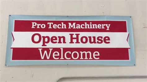 Tech Mba Open House by Pro Tech Machinery Open House Multicam Cnc Router 5x10 Mg